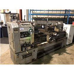 TA SHING MACHINE WORKS  INDUSTRIAL LATHE (MODEL)150OB INCLUDES PALLET OF ACCESSORIES, AND A METAL