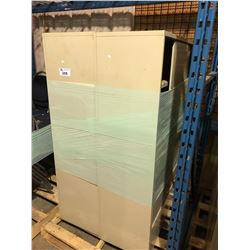 PALLET OF 2 METAL STORAGE CABINETS