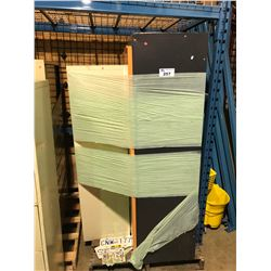 PALLET OF 2 METAL STORAGE CABINETS  & METAL LOCKERS