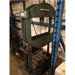 CHRISTENSEN INDUSTRIAL HYDRAULIC SHOP PRESS