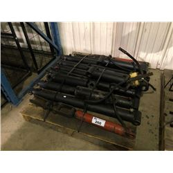 PALLET OF ASSORTED HYDRAULIC CYLINDERS