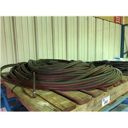 PALLET OF ACY/OXY GAS WELDING HOSE