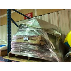 PALLET OF ASSORTED GROW LIGHT SHIELDS
