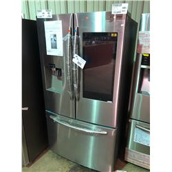 SAMSUNG STAINLESS STEEL RF265BEAESR FRENCH DOOR FRIDGE WITH ROLLOUT FREEZER, WATER AND ICE