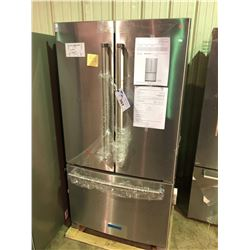 KITCHENAID KRFC300ESS STAINLESS STEEL FRENCH DOOR  FRIDGE WITH ROLL OUT FREEZER