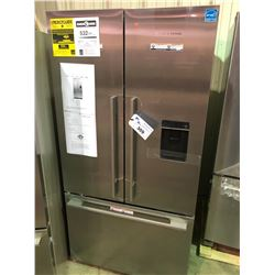 "FISHER & PAYKEL STAINLESS STEEL 36"" FRENCH DOOR FRIDGE WITH INTEGRATED WATER AND ICE DISPENSER"