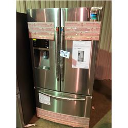 SAMSUNG RF28HFEDBSR-AA STAINLESS STEEL FRENCH DOOR FRIDGE WITH WATER AND ICE DISPENSER