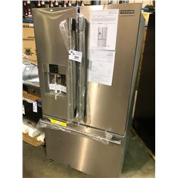 FRIGIDAIRE PROFESSIONAL SERIES FPBS2777RF STAINLESS STEEL FRENCH DOOR FRIDGE WITH ROLL OUT FREEZER,