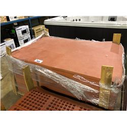 """PALLET OF RED  RUBBER COMMERCIAL ANTI FATIGUE  60""""  X  36"""" MATS"""