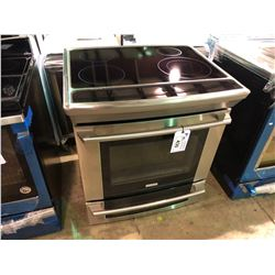 ELECTROLUX EW30IS6CJSC STAINLESS STEEL GLASSTOP SLIDE IN STOVE (USED)