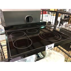 BLACK REPLACEMENT STOVE TOP