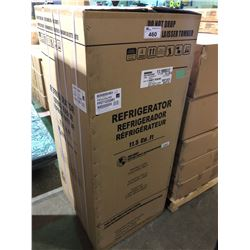 (BOXED) FRIGIDAIRE FFET1222QW1 WHITE 11.5 CU.FT. FRIDGE