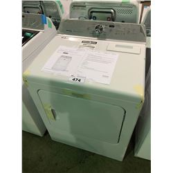 MAYTAG BRAVOS XL STEAM YMEDB755DW CLOTHES WASHER WITH MAYTAG COMMERCIAL TECHNOLOGY