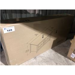 (BOXED)TECHCRAFT PAL5022B 2 DOOR TV CONSOLE