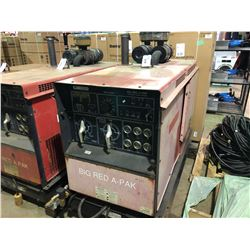 CANOX DIESEL POWERED BIG RED A-PAK MULTIPROCESS WELDING GENERATOR