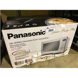 PANASONIC NN-SE996S STAINLESS STEEL 2.2 CU.FT. MICROWAVE OVEN WITH CYCLONE INVERTER