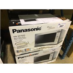 PANASONIC NN-SD765S STAINLESS STEEL 1.6 CU.FT.1200W MICROWAVE OVEN WITH CYCLONE INVERTER