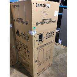 SAMSUNG RT18M6213SR STAINLESS SINGLE DOOR, TOP FREEZER, FRIDGE