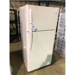 (BOXED)WHITE FRIGIDAIRE (FFTR1821TW0) TOP FREEZER REFRIGERATOR