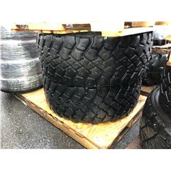 2 MICHELIN 445 M+S TRUCK TIRES