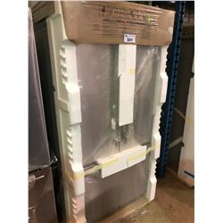 (BOXED)JENN-AIR JFC2290REM STAINLESS STEEL FRENCH DOOR FRIDGE WITH ROLL OUT FREEZER