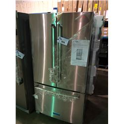 KITCHENAID KRFF305ESS STAINLESS STEEL FRENCH DOOR  FRIDGE WITH ROLL OUT FREEZER