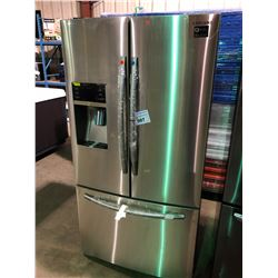 SAMSUNG RF23HCEDBSR STAINLESS STEEL FRENCH DOOR FRIDGE WITH ROLL OUT FREEZER, AND WATER AND ICE
