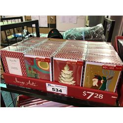 ASSORTED LOT OF 16 BOXES OF HOLIDAY GREETING CARDS