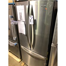 WHIRLPOOL WRF560SFHZ STAINLESS STEEL FRENCH DOOR FRIDGE WITH ROLL OUT FREEZER
