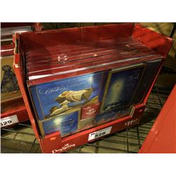BOX OF 8  PACKS CONTAINING 40 CARDS IN EACH HALLMARK HOLIDAY GREETING CARDS