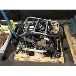 PALLET OF TOW HITCHES, TOWING STABILIZER BARS