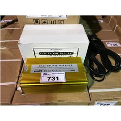 2 GOLD 600W ELECTRONIC DIMMABLE LIGHTING BALLASTS