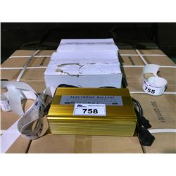 3 GOLD 600W ELECTRONIC LIGHTING BALLASTS