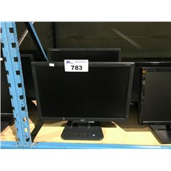 ACER, LG, & EMACHINE COMPUTER MONITORS