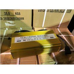 BOX OF 4 GOLD 1000W ELECTRONIC LIGHTING BALLASTS