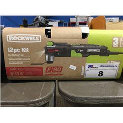 ROCKWELL 12 PCE OSCILLATING TOOL KIT
