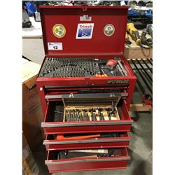 WATERLOO ROLLING TOOL CHEST AND CONTENTS