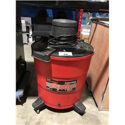 CRAFTSMAN BIG RED 120L SHOP VAC
