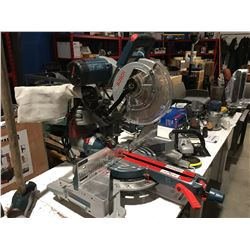 "BOSCH CM10GD 10"" DUAL BEVEL HINGE SLIDE MITRE SAW"