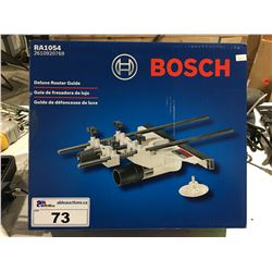 BOSCH DELUXE ROUTER GUIDE