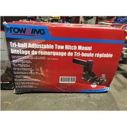 TOWKING TRI-BALL ADJUSTABLE TOW HITCH MOUNT