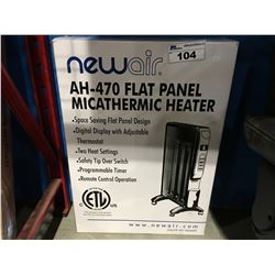 NEWAIR FLAT PANEL MICATHERMIC HEATER