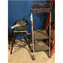 PAINTERS STEP LADDER & JOBMATE WORK BENCH