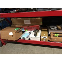 SHELF LOT FULL OF AUTOMOTIVE MECHANICS PARTS