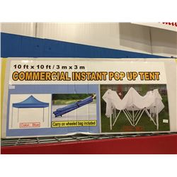10' X 10' COMMERCIAL INSTANT POP-UP TENT