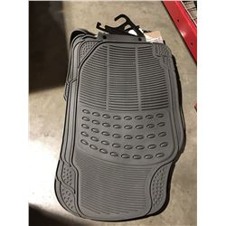 SET OF CAR FLOOR  MATS (GREY)