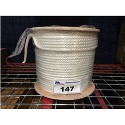 SPOOL OF BRAIDED ROPE