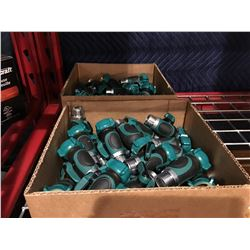 BOX OF 25 WATER HOSE CONNECTORS