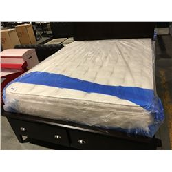 QUEEN SIZE PILLOW TOP LATEX MATTRESS