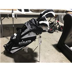 STRATA ULTIMATE RIGHT HANDED GOLF CLUB SET WITH BAG